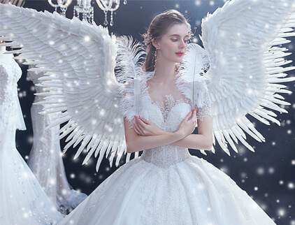 Nieuwjaar 2020 coupon voor trouwjurk
