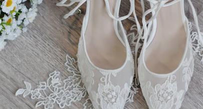 Últimos zapatos de boda