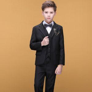 Affordable Black Boys Wedding Suits 2020