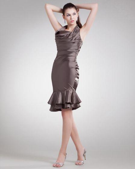 Charmeuse Rufsar Grimma Knalang Cocktailklänning Festklänningar