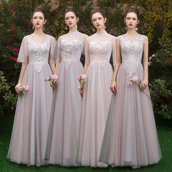 Vestidos de damas de honor largos 2019