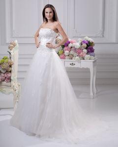 Schärpe Satin Gericht Reich Brautkleider Hochzeitskleid