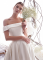 Elegant Ivory Wedding Dresses 2019 A-Line / Princess Off-The-Shoulder Short Sleeve Backless Royal Train