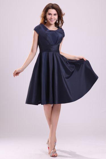 2015 Charming Zipper Short Bridesmaids Dresses