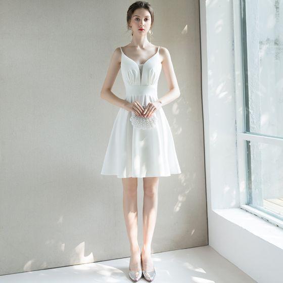 8b7177a6f3 Vestidos para graduacion blancos – Vestidos de boda