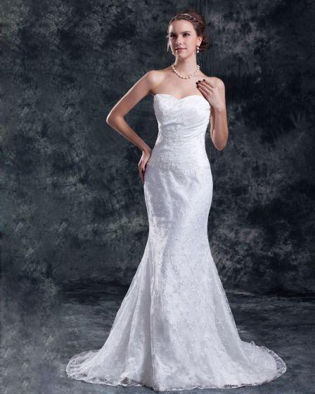 lentejuelas flor del cordón vestido de novia vaina tren de la corte