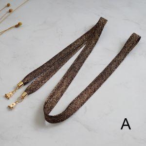 Sparkly Romantisk Brun Galla Skærf  2020 Tassel Metal Bryllups Bryllup Selskabs Accessories
