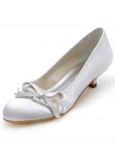Grade Satin Bridal Party Wedding Shoes Can Be Customized With Lovely Butterflies In Shoes