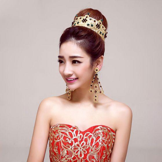 Vintage Bridal Jewellery Wedding Tiara Bridal Earrings