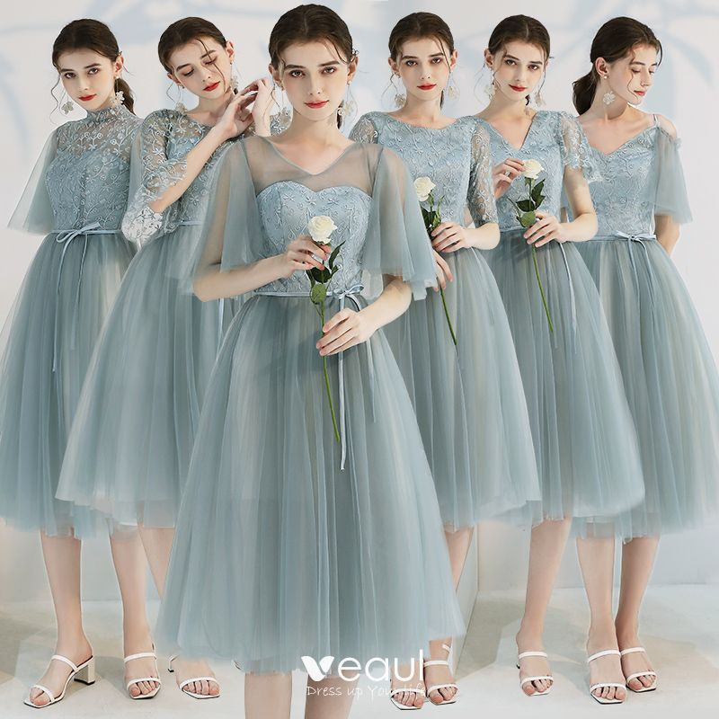 Affordable Green Bridesmaid Dresses