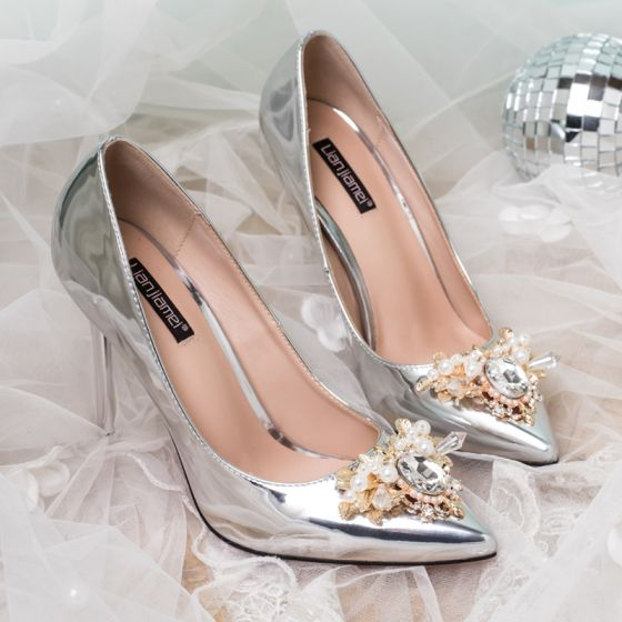 6de867b9ca9 elegant-silver-wedding-shoes-2018-crystal-pearl-patent -leather-leather-10-cm-stiletto-heels-pointed-toe-wedding -high-heels-560x560.jpg