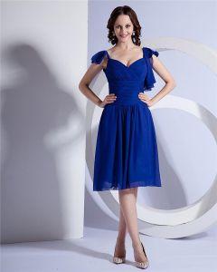 Charme Sexy Robe De Mousseline Mode De Robe De Soirée