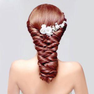 Fleurs En Dentelle De La Coiffe De Mariée / Fleur Tete / Accessoires De Cheveux De Mariage / Bijoux De Mariage