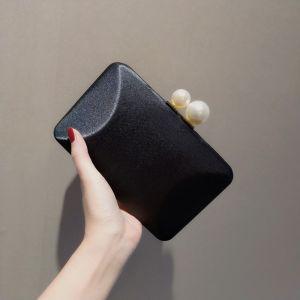 Simple Noire Pochette 2020 Métal Perle