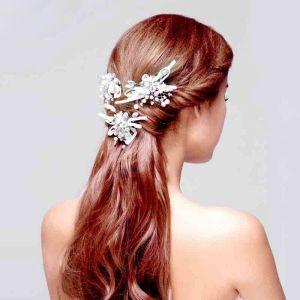Straatliederen Parel Mode Temperament Bruids Hoofdtooi / Head Bloem / Bruiloft Haar Accessoires / Bruiloft Sieraden