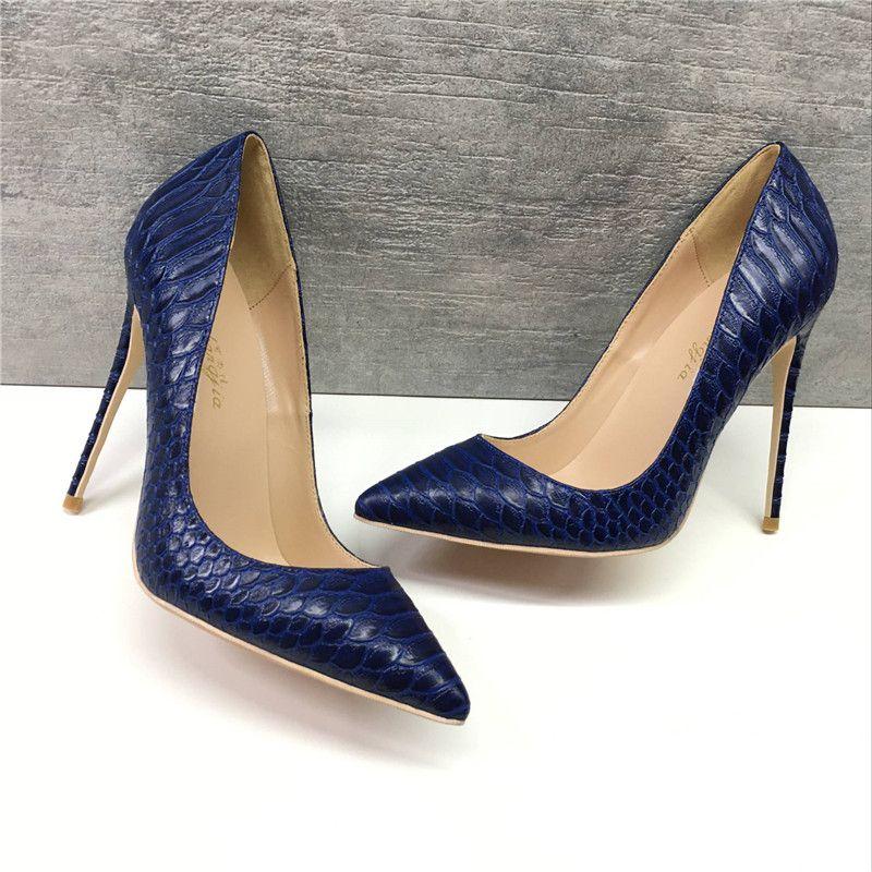 12 cm Stiletto Heels Pointed Toe Pumps