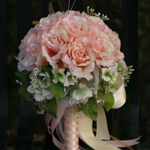 Bridal Bouquets Holding Rose Wedding Flowers
