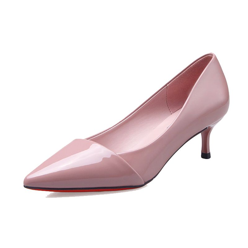 Chic / Beautiful Office Womens Shoes 2017 PU High Heels Pointed Toe Pumps