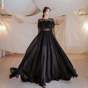 Långärmad prollpklänning