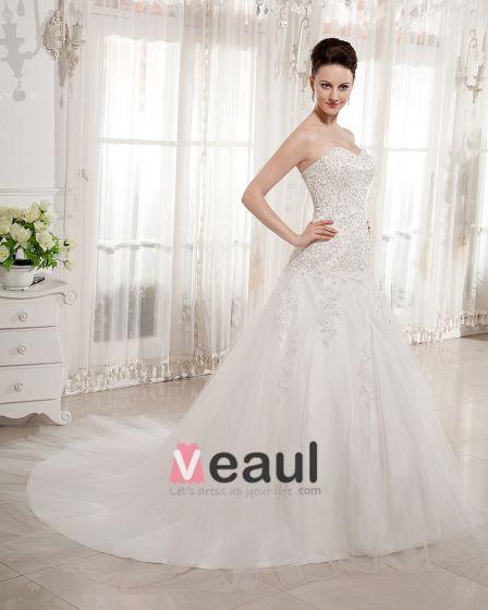 Perlen Liebsten Kapelle Zug Brautballkleid-hochzeitskleid