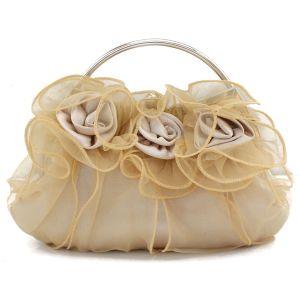 8 Farben Blumen-spitze-brautjungfer Abendtasche Damen Clutch Tasche Clutch