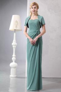 2015 Elegante Schatz-trägerlose Mutter Der Braut Kleid Mit Schal