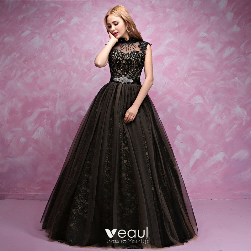 Atria Strapless Sweetheart Lace Prom Dress  |Formal Ball Dresses With Lace