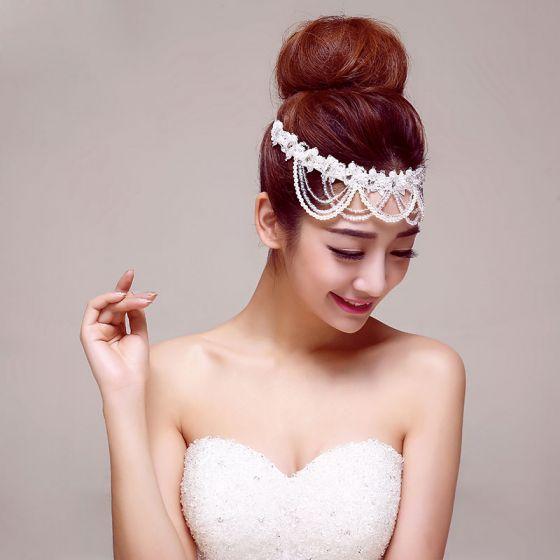 Gloden Classical Bridal Headpiece /Head Flower / Wedding Hair Accessories / Wedding Jewelry