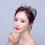Bridal Jewelry Elegant 2017 Silver Crystal Metal Tiara