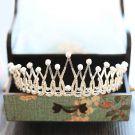 Elegant 2017 Silver Champagne Metal Rhinestone Tiara Bridal Jewelry