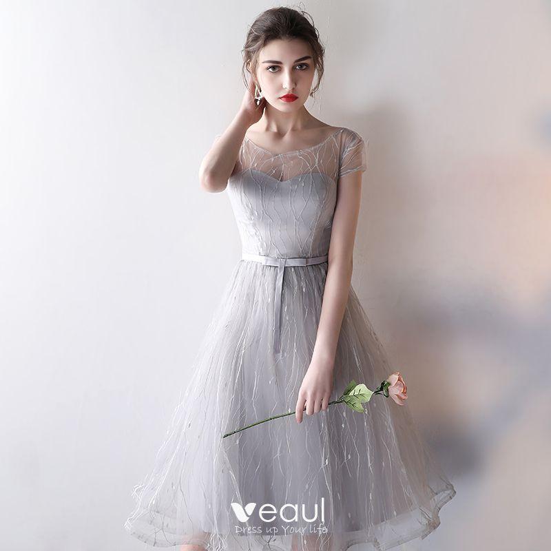Real Simple Weddings 2017: Modest / Simple Wedding Party Dresses 2017 Wedding
