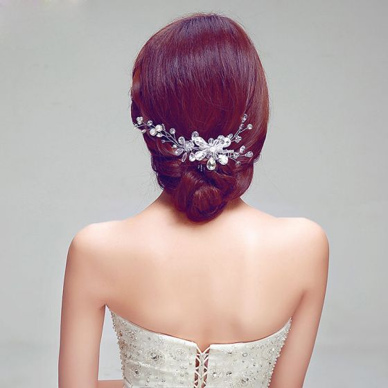 Fashion Luxe Strass Bruids Hoofdtooi / Head Bloem / Bruiloft Haar Accessoires / Bruiloft Sieraden / Krans