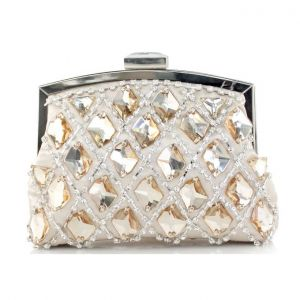Shiny Rhinestone Retro Dress Clutch Bags
