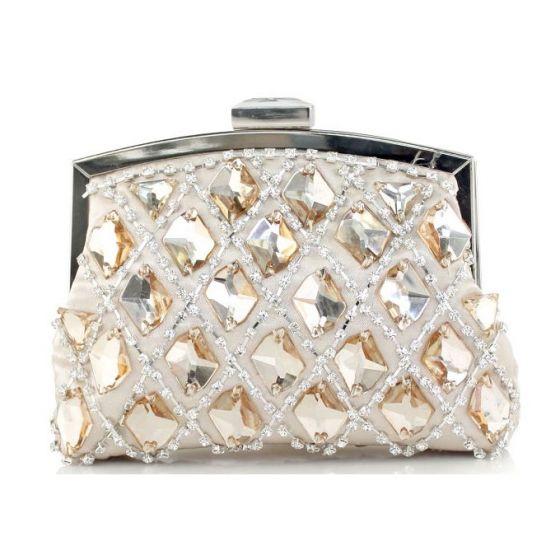 Shiny Rhinestone Retro Dress Clutch Bags