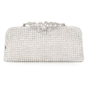Banquet Clutch Bag Luxury Diamond Wristlet Bag
