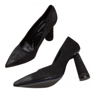 Modest / Simple Office OL Black Pumps 2020 8 cm Stiletto Heels Pointed Toe Pumps