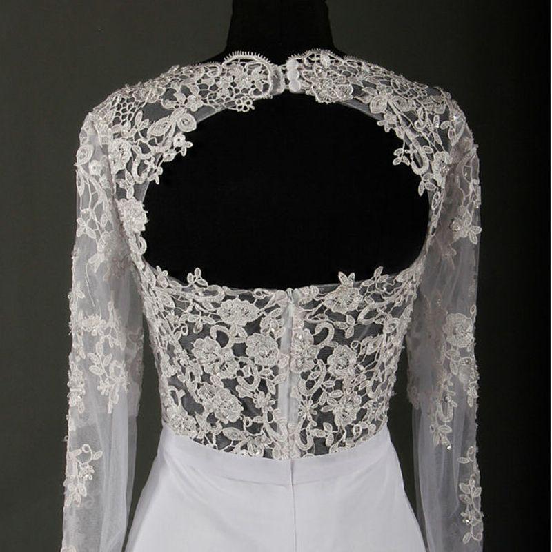 Amazing / Unique Ivory Court Train Wedding 2018 Trumpet / Mermaid Charmeuse Lace-up Appliques Backless Beading Pierced Sequins Wedding Dresses