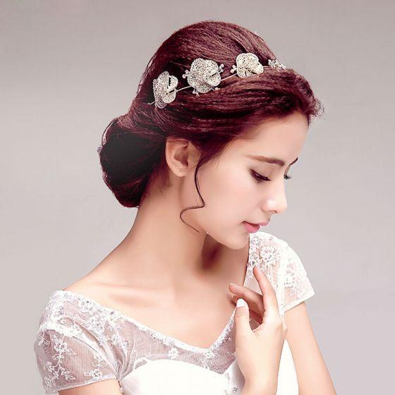 Sweet Shine Rhinestone Bridal Headpieces /Head Flower / Wedding Hair Accessories / Wedding Jewelry/Garland