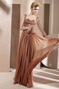 Sweetheart Perlen Rüsche Sleeveless Fußbodenlänge Reißverschluss Charmeuse Frau Abendkleid