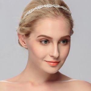 Klassieke Zilveren Hair Hoop Bruids Haaraccessoires 2020 Metaal Rhinestone Haaraccessoires Huwelijk Accessoires