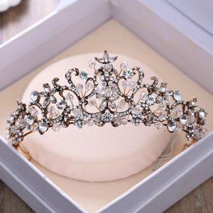 Vintage / Originale Noire Tiare 2018 Métal Faux Diamant Cristal Mariage Accessorize
