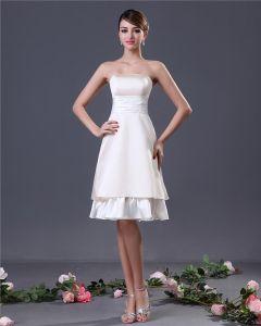 Sexy Elegant Strapless Sash Graduation Dresses