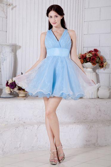 Perfekt Balklänning V-ringad Cocktailklänning Festklänning