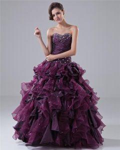 7bff6d623 Balón Vestido De Novia De La Colmena Vestido De Gala Quinceañera Longitud  Tafetán Piso Abalorios