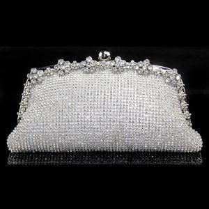 Glänzenden Vollen Rhinestone-Clutch Tasche Licht Luxuriöse Und Elegante Damen Diamant Abendessen