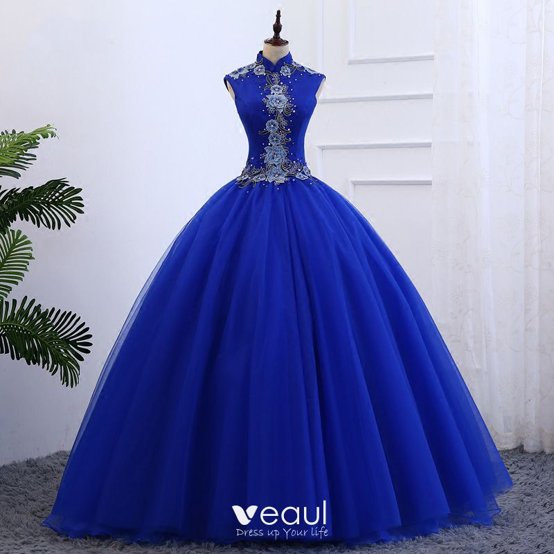 e110937d4e chinese-style-royal-blue-prom-dresses-2019-ball-gown-high-neck -sleeveless-appliques-embroidered-pearl-floor-length-long-ruffle-formal- dresses-800x800.jpg