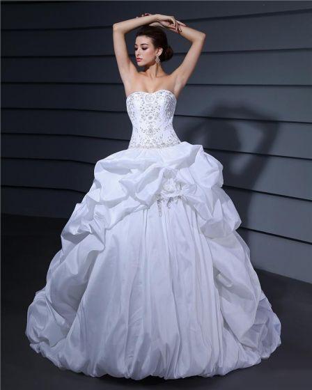 Wzburzyc Kochanie Linke Długosc Podlogi Charmeuse Suknia Balowa Suknie Ślubne Sukienki Ślubne