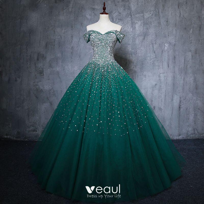 vintage-retro-dark-green-handmade-beadin