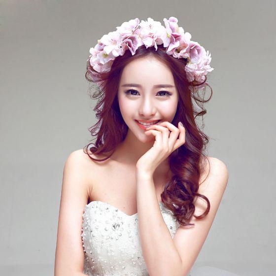 Fashion Elegant Jasmine Headpiece Head Flower Hair Accessories