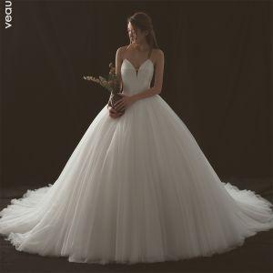 suknie ślubne proste